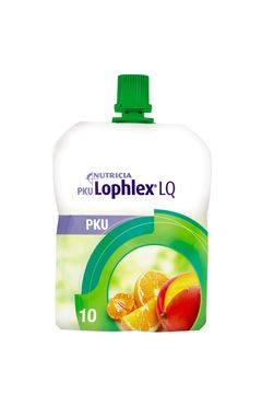 PKU Lophlex LQ 10 drickfärdig PKU-dryck, tropisk 60 x 62,5 milliliter