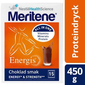 Meritene Energis Proteindryck berikad choklad 450g