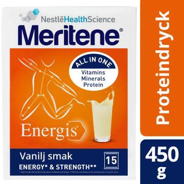 Meritene Energis Proteindryck berikad vanilj 450g