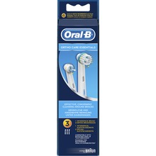 Oral-B Ortho Care Essentials  - Refill borsthuvuden, 3 st