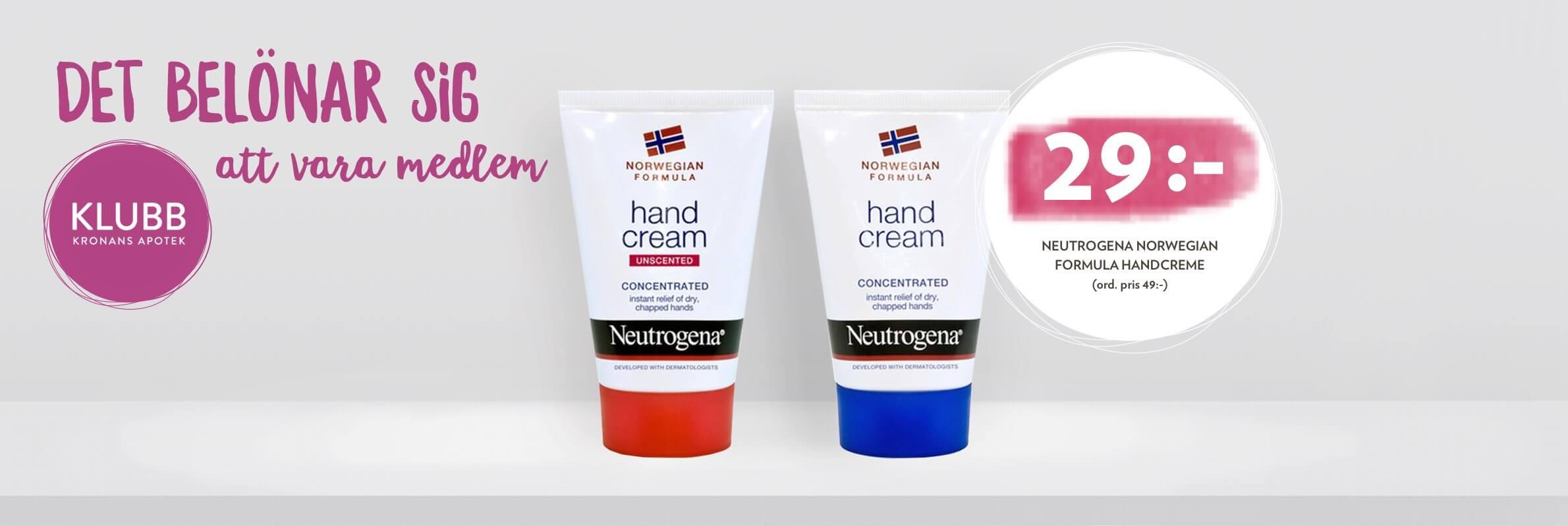 neutrogena norwegian formula apoteket