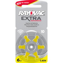 Rayovac - extra advanced 10 gul 6 st