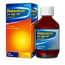 Theracough - Oral lösning 20 mg/ml 200 milliliter