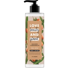 Love Beauty and Planet hudlotion - Sheasmör och sandelträ. 400 ml
