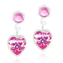 Blomdahl - MP Pendant Heart 4/6mm Light Rose par