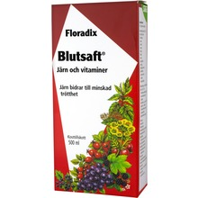Floradix - Blutsaft - stor flaska 500ml