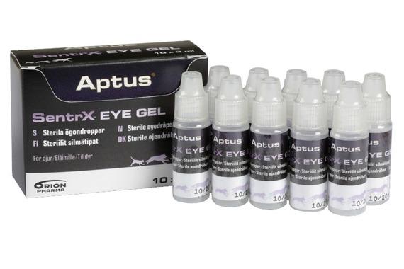 Aptus SentrX Eye Gel Ögondroppar för hund, katt och häst, 10x3ml