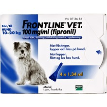 Frontline vet. Vet - Spot-on, lösning 100 mg/ml 4 x 1,34 milliliter