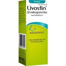 LivostinNässpray, suspension