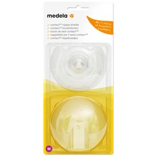 Medela - Contact amningsvårtskydd medium 1 par