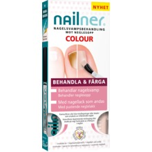 Nailner - Behandla & Färga 2*5ml