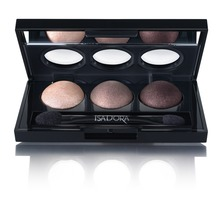 IsaDora - Eye Shadow Trio Cool Browns 1,5 G