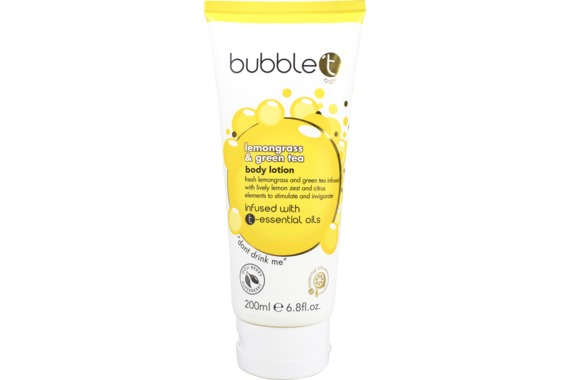BubbleT Lemongrass & Green Tea Body Lotion - Kräm Lemongrass 200ml