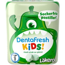 Läkerol - DentraFresh Kids Pear 55g