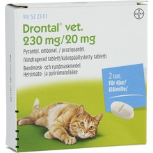 Drontal vet.Filmdragerad tablett