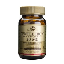 SOLGAR - Gentle Iron 20mg 90 kaps