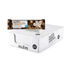 Allévo Chocolate Chip & Peanut Butter - One Meal. Måltidsersättning bar. 56 g. 20 st