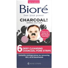 Bioré - Deep Cleansing Charcoal Pore Strips 6 st