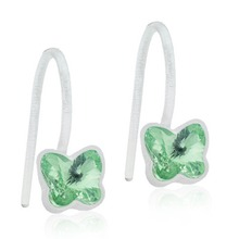 Blomdahl - MP Pend Fix Butterfly Peridot par