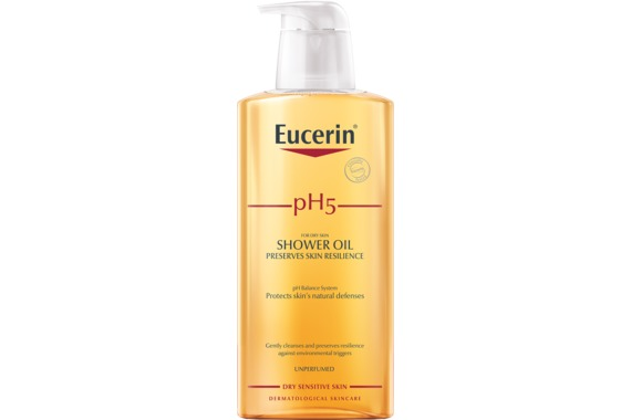 Eucerin pH5 Shower Oil Oparfymerad 400 ml - Duscholja