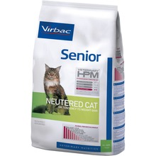 Virbac Veterinary HPM Senior Neutered Cat - Friskfoder till äldre katter. 7 kg