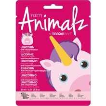 MasqueBAR Pretty Animalz Unicorn Sheet Mask - Ansiktsmask. 21 ml.