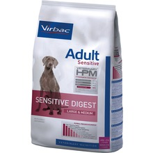Virbac Veterinary HPM Adult Dog Sensitive Digest  - Foder till vuxna hundar/magbesvär. 12 kg