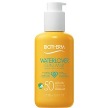 Biotherm Sun Milk SPF 50 - Waterlover. Solskydd. 200 ml