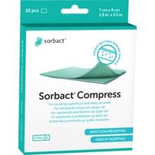 Köp Sorbact Kompress 7X9 cm 10 ST på Kronans Apotek 597a611baa43f