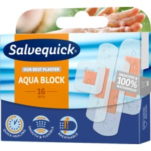 Salvequick - Aqua Block Family Pack 16 st