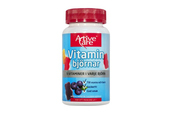 Active Care - Vitaminbjörnar 60 st