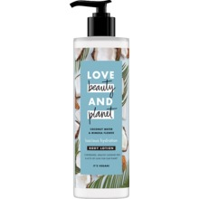 Love Beauty and Planet hudlotion  - Kokosvatten och mimosa. 400 ml