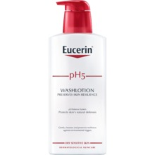 Eucerin - pH5 Washlotion med parfym 400 ml