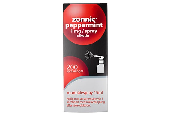 Zonnic Pepparmint - Munhålespray, 1 mg/spray, 200 doser