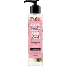 Love Beauty and Planet ansiktsskrubb - Muru-murusmör och rosor. 125 ml