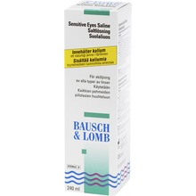 Sensitive Eyes Saline 240ml - Linsvätska 240ml