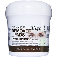Depend - Eye make-up remover pads With oil 1 st
