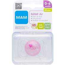 MAM - Air 0-6 SkinSoft 1 st