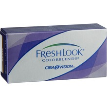 Freshlook Colorblends - Färglins brown +0.00 2 st