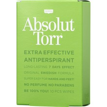 Dermix - Absolut Torr Wipe 10 st