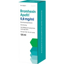 Bromhexin ApofriOral lösning