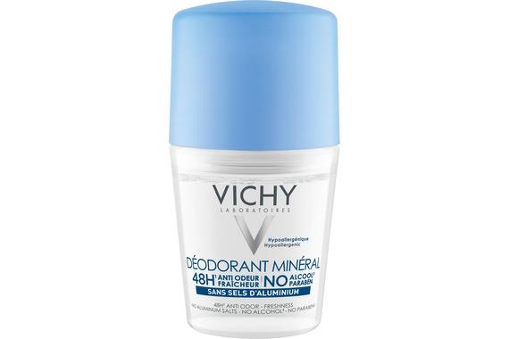 Vichy DÉODORANT Déodorant Minéral Roll-on Osetljiva ili epilirana koža
