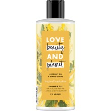 Love Beauty and Planet duschgel - Kokosolja och ilang-ilangblomma. 500 ml