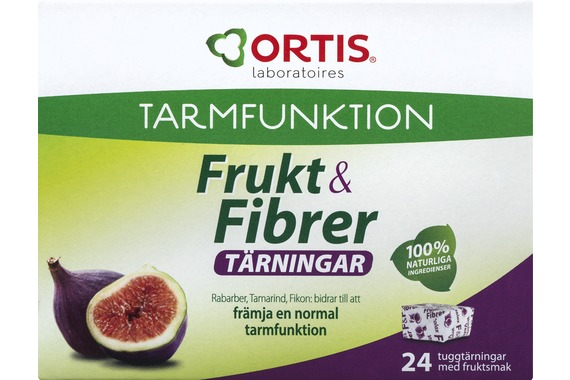 Främjar normal tarmfunktion