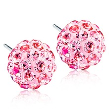 Blomdahl - NT Crystal Ball 6mm Light Rose par