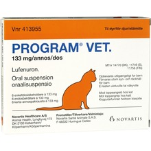 Program vet. - Oral suspension i endosbehållare 133 mg 6 styck