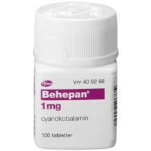 b12 tabletter receptfritt