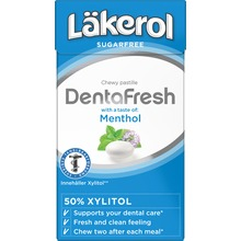 Läkerol Dents - DentaFresh Menthol 36 gram