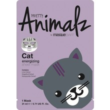 MasqueBar - Animalz Cat Sheet Mask 21 ml