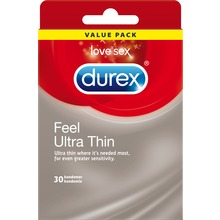 Durex - Feel Ultra Thin Big Pack 30 st